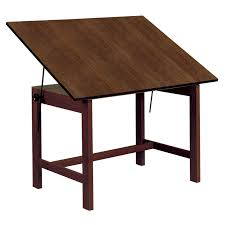Drafting Table Parts To It Alvin Titan Walnut Finish Drafting Drawing Table