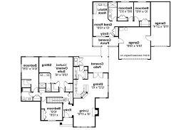 story house plans with mother in law suite floor ranch plan