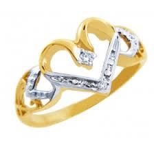 2 s ring two tone gold rings gold boutique
