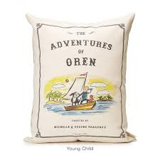 personalized storybook pillow adventure personalized baby