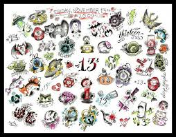 friday the 13th 13 tattoos tattoo collections