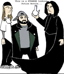 Jay And Silent Bob Meme - jay silent bob and snape alternate universe know your meme