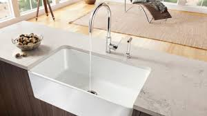 Fireclay Sinks Featuring BLANCO CERANA BLANCO - Blanco kitchen sinks canada