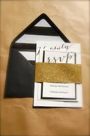 black and white striped wedding invitations gold black and white ivory letterpress wedding invitations bold