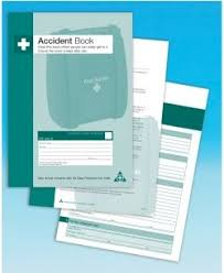 accident reporting book accident record book workplace incident report log health and