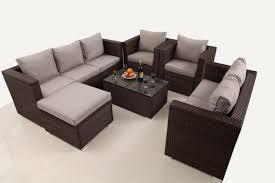 Rattan Garden Furniture Sofa Sets 8 Seater Grey Rattan Garden Furniture Set Furniture Maxi