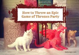 interior design game of thrones theme party decorations home