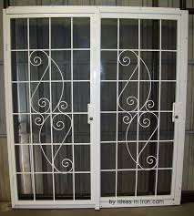 Enchanting Pendant On Security Patio Doors Decorating Patio Ideas