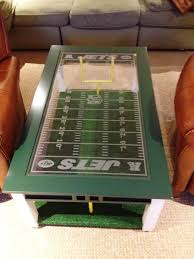 themed coffee table custom made football fan s coffee table 700 cave
