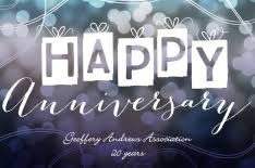 anniversary greeting postcards by brookhollow cards