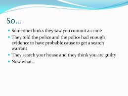 Free Bench Warrants Search - it is better to let 10 guilty people go free then that one