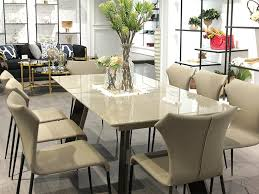 Extension Stone Dining Table Set - Stone kitchen table