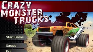 monster truck video game crazy monster trucks free from gametop com youtube