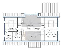House Floor Plan Measurements The Cabot Barn House One Foot Print Three Floor Plan Sizes
