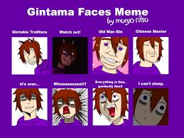 Xd Meme - gintama faces meme xd by muryoritsu on deviantart