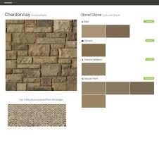 chardonnay cobblefield cultured stone boral stone behr