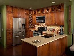 Kitchen Paint Colors With Dark Cabinets Kitchen Dark Cabinets Light Floors Grey And Green Kitchen White