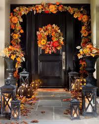 10 Fall Door Decor Options That Arent Wreaths Fall Door Decorating