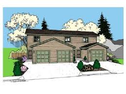 Multi Family House Plans Triplex Page 3 Of 4 Multi Family House Plans Triplexes U0026 Townhouses