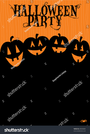 halloween party invitation stock vector 60696859 shutterstock