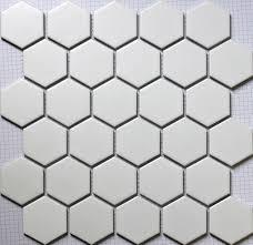 aliexpress com buy 11pcs white hexagon ceramic mosaic tile
