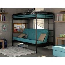 Bunk Bed With Sofa Bed Loft Beds With Desk And Futon Foter