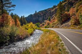 Scenic Byway by Logan Canyon National Scenic Byway Us Route 89