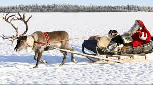 santa claus best reindeer rides of father christmas in lapland