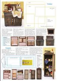 Dollhouse Furniture Kitchen Dollhouse Miniature Printables Printables Pinterest