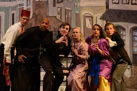 Summer Garden Theatre - review the mystery of edwin drood at annapolis summer garden