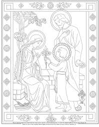 holy family coloring pages kids coloring