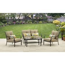 Ventura Patio Furniture by Patio Furniture Colebrook Piece Outdoor Conversation Set Living