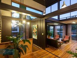 interior of shipping container homes zieglerbuild s unique shipping container home