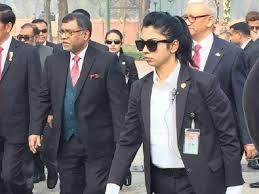 profil sosok jokowi sosok cantik inilah pengawal presiden jokowi di bangladesh berita360