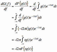 Fourier Transform Table Thefouriertransform Com Fourier Transform Of The T Times G T