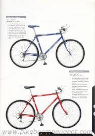 peugeot road bike peugeot 1998 uk brochure