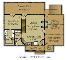 cabin blueprints floor plans small mountain cabin plan by small lake houses lake house plans