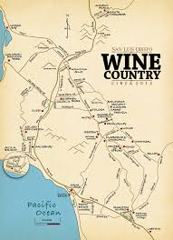 paso robles winery map slo wine country san luis obispo wine tasting map neighborhood