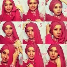 tutorial jilbab jilbab kumpulan gambar cara berhijab segi empat tutorial hijab pinterest