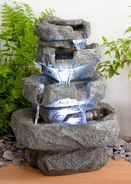 cascading water features for the garden uk products pinterest