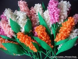 Hyacinth Flower Beautiful Crepe Paper Hyacinth Flower