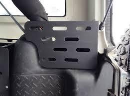 4 Door Jeep Interior Jk 4 Door Rear Storage Stinger Jeep Interior Storage