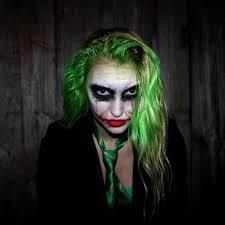 anna faith on joker joker makeup and cosplay
