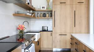 light wood kitchen cabinets with black hardware light wood kitchen with buster punch hardware