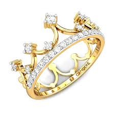 crown engagement rings images Little princess crown diamond ring online jewellery shopping india jpg