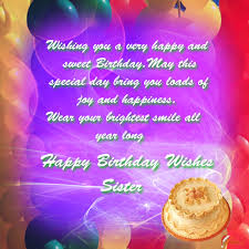 birthday card birthday cards for sisters facebook wishes free