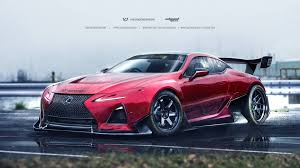 lexus bmw supercar lexus lc 500 rendered for gt3 and drift