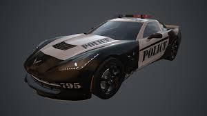police corvette corvette stingray police pbr quixel suite by darkmarekl on deviantart