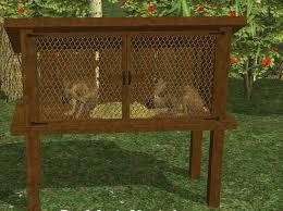 haven u0026 hearth u2022 view topic idea rabbit hutch small wildlife