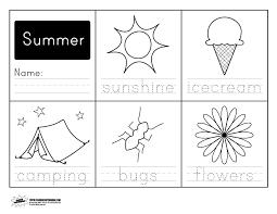 printable summer handwriting worksheet paging supermom